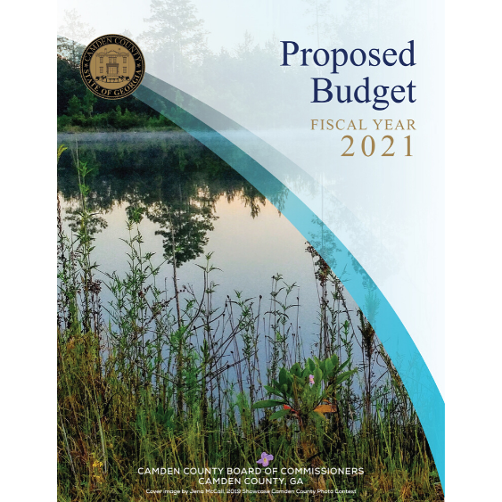 Proposed Budget Fiscal Year 2021 Camden County Board of Commissioners