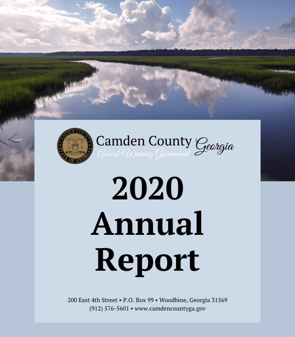 Camden County 2020 Annual Report