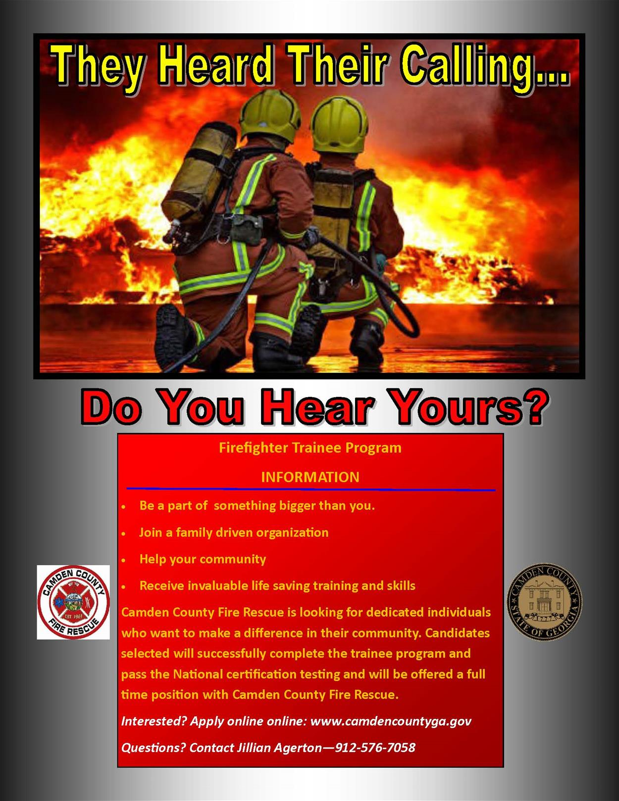 Camden County GA Official Website Official Website - Can you hear us now county map