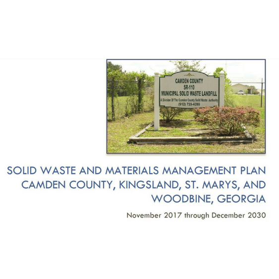 Solid Waste & Materials Management Plan