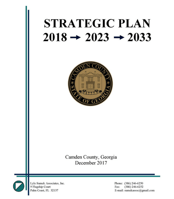Strategic Plan 2018-2023-2033 Cover