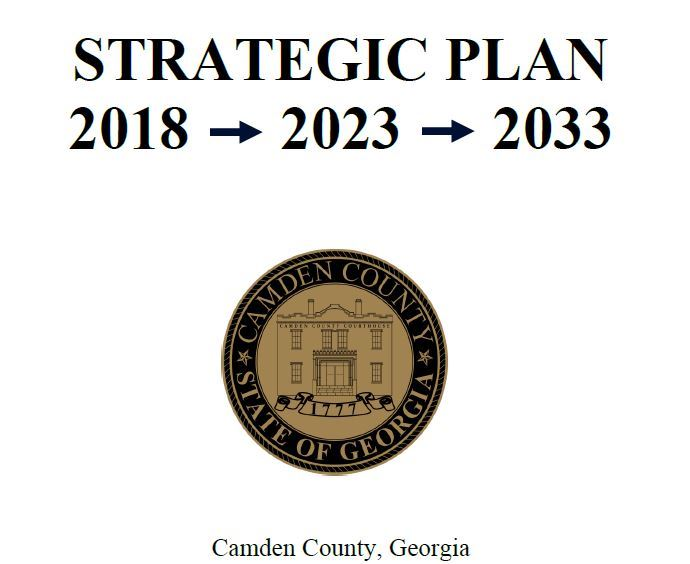 2018 Strategic Plan Cover
