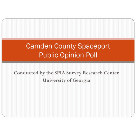 Camden County Spaceport Public Opinion Poll