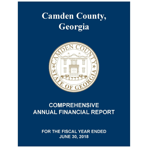 2018 Comprehensive Annual Financial Report
