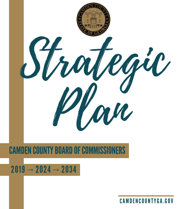 Strategic Plan 2019-2024-2034 Camden County Board of Commissioners