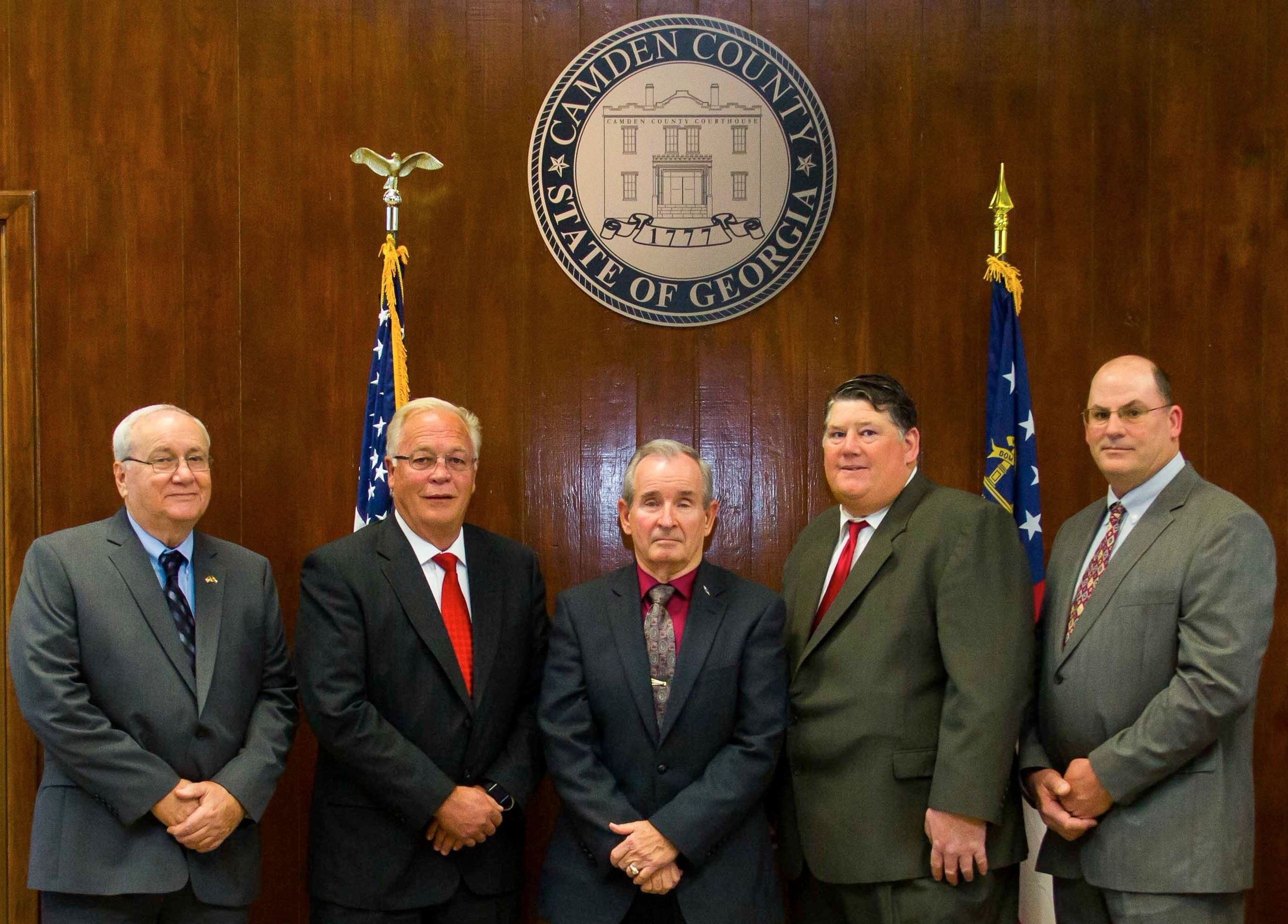 2018 Camden County Board of Commissioners
